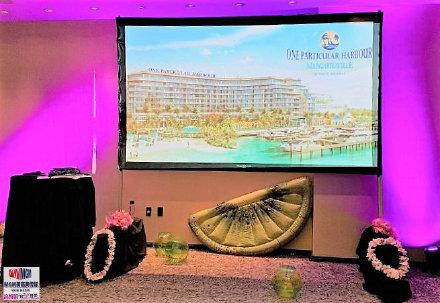 高娓娓:巴哈马ThePointe高端海景公寓推介会闪耀亮相美国时代广场